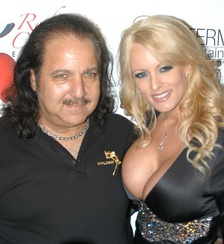 Jeremy and Stormy Daniels at Jeremy's birthday party in March 2007