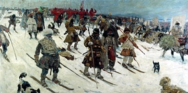 Muscovite campaign against the Lithuanians by Sergei Ivanov (1903)