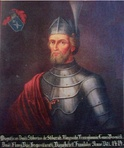 Late painting of Stibor of Stiboricz