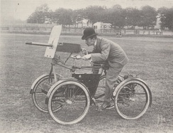F.R. Simms' Motor Scout, built in 1898 as an armed car