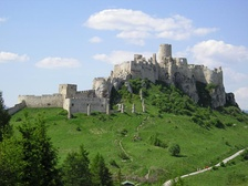 The Mongol invasion in the 13th century led to construction of mighty stone castles, such as Spiš Castle in Slovakia.