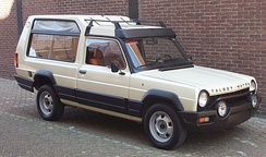Matra Rancho, one of the first LAVs