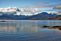 The Scottish Highlands, geographically located in the north west of Scotland, is considered to have some of the world's best views
