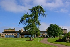The Lodge, clubhouse for the Roman Road and Montgomerie golf courses