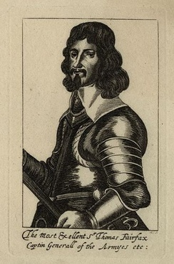 The Most Excellent Thomas Fairfax, Captin Generall of the Armyes etc, etching, 1640s. National Portrait Gallery, London