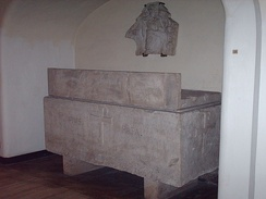 Former tomb of Pius III