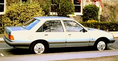 A rebadged Rekord E2 — the Vauxhall Carlton