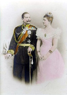 Wilhelm and his first wife Augusta Viktoria
