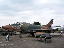 "F-100C ""3-089"" at Istanbul Aviation Museum, Turkey"