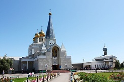 Russian Orthodox Church in Karaganda