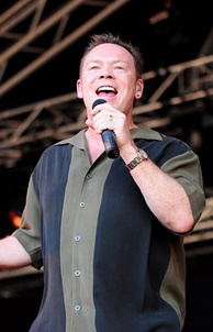 UB40's former frontman Ali Campbell performing in 2009.