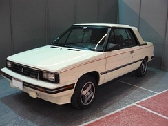 The Renault Alliance, based on the Renault 9, was built by American Motors Corporation from 1983 to 1987