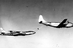 Boeing B-47A Stratojet AF Serial No. 49-1902 refueled by Boeing KC-97