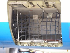 Airbus A320 baggage hold