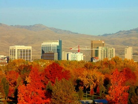 Boise, the third largest metropolitan area in the Northwest