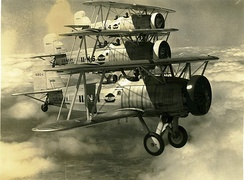 Curtiss F8C-5 Formation, circa 1930