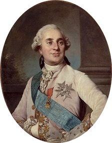 Louis XVI, who reigned from 1774 to 1792. Vergennes was his most trusted minister. The King was executed in 1793 during the French Revolution.