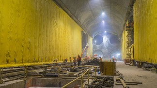 East Side Access progress in 2014