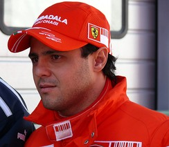 Felipe Massa finished second in the World Drivers' Championship, one point behind Hamilton