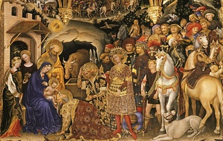 Adoration of the Magi, Gentile da Fabriano, 1423