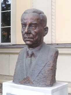 A bust of Andrić in Graz, Austria