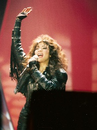 In 1985, Jennifer Rush was the first solo female to have a single sell over a million copies.[citation needed]