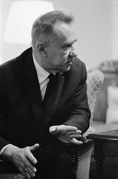Kosygin at the Glassboro Summit Conference, 23 June 1967
