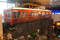 Liverpool Overhead Railway EMU carriage in the Museum of Liverpool