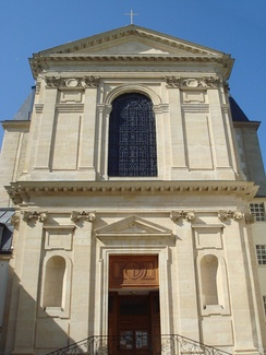 The Chapel at the Paris Foreign Missions Society, established in 1691.