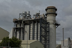 Otahuhu Power Station's 404MW combined cycle turbine, also known as Otahuhu B
