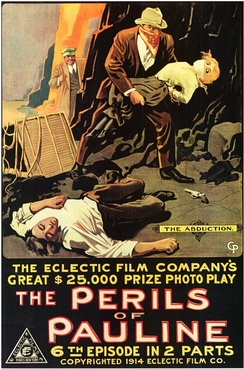 Poster for The Perils of Pauline (1914)