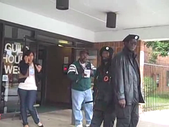 Alleged instance of voter intimidation in Philadelphia during the 2008 US presidential election.