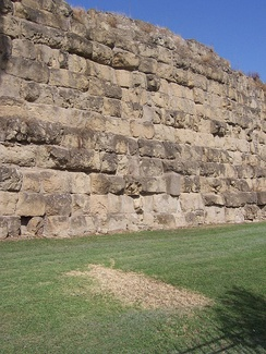 The Servian Wall takes its name from king Servius Tullius and are the first true walls of Rome