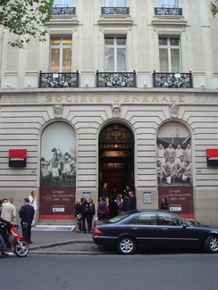 The registered office and former headquarters of Société Générale.