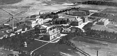 The University of Utah campus in the early 1920s