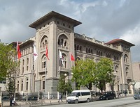 The Grand Post Office (1905–1909) in Istanbul and the first Ziraat Bank headquarters (1925–1929) in Ankara are among the examples of Turkish Neoclassical architecture in the early 20th century.