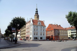 Market Square in Brzeg
