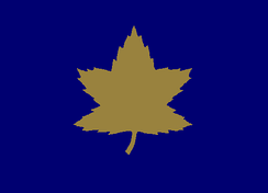 Formation sign used to identify vehicles of the 2nd Canadian Infantry Division