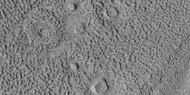 Group of ring-mold craters, as seen by HiRISE under HiWish program