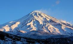 Mount Damavand, Iran's highest point, is located in Amol, Mazenderan.