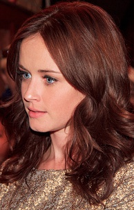 Actress Alexis Bledel is a white Hispanic of Argentine origin and Scottish, German and Scandinavian heritage. Bledel grew up in a Spanish-speaking household and did not learn English until she began school.[74][75]