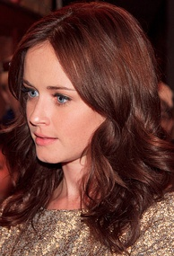 Alexis Bledel's first acting job was playing Rory Gilmore