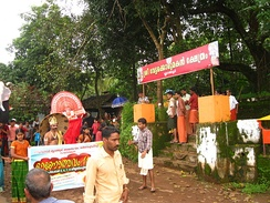 Onam celebration at Blathur