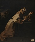 Saint Francis in Meditation, 1639, National Gallery