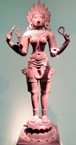 A Tamil depiction of Kali
