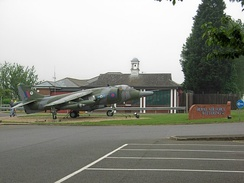 RAF Wittering is nearby to the south