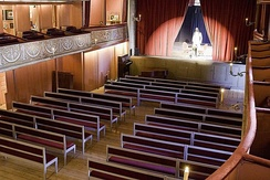 The auditorium of the Court Theatre