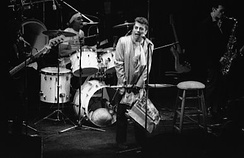 Ian Dury and the Blockheads on stage