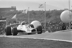 Alan Jones at the 1979 Dutch Grand Prix