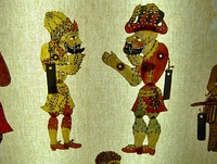 The shadow play Karagöz and Hacivat was widespread throughout the Ottoman Empire.
